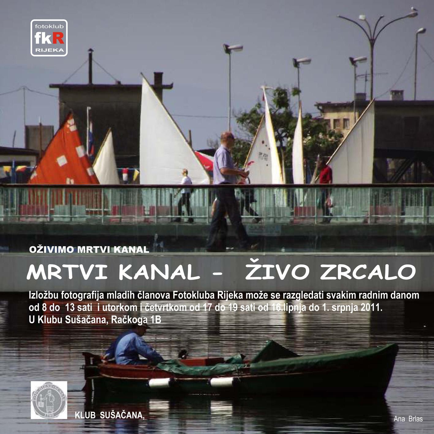 MRTVI KANAL - ZIVO ZRCALO -pozivnica