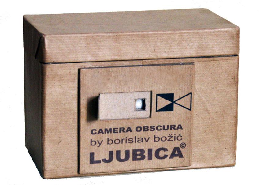 camera obscura s kojom polaznici radionice snimaju